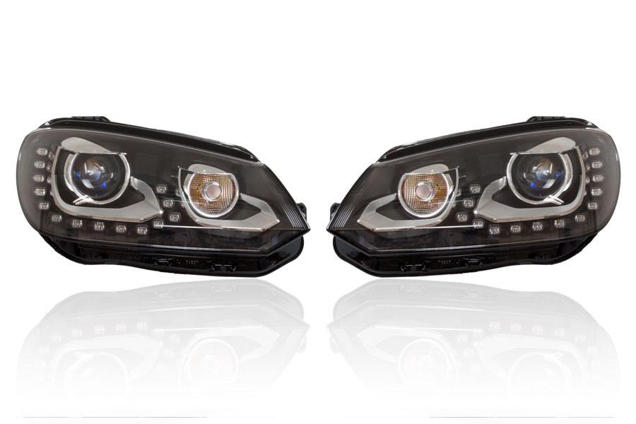 BI-XENON LYGTER MED LED DRL INKL AUTOMATISK NIVEAUREG. VW EOS fra 2011